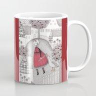 The Old Village Mug
