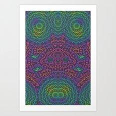 Acid Drop 2 Art Print