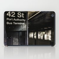 42nd Street Subway Stop iPad Case