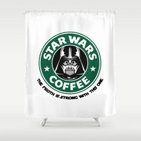 ForceCoffee Shower Curtain