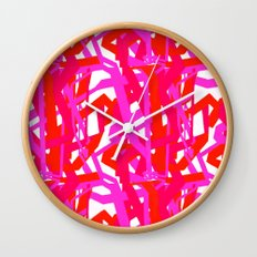 Urban Pink Wall Clock