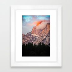 Yosemite Flare Framed Art Print