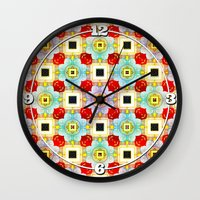 Embellecimiento Pattern Wall Clock