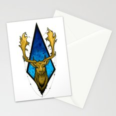 Big Buck  Stationery Cards