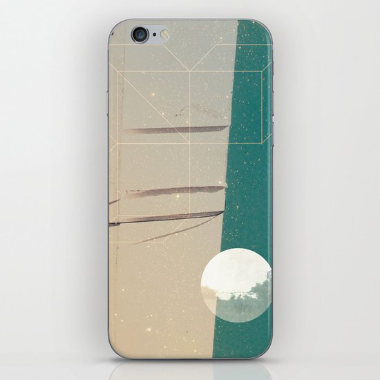 upside world iPhone & iPod Skin