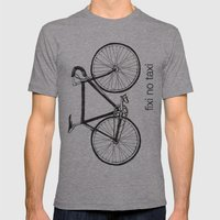 fixi no taxi Mens Fitted Tee Athletic Grey SMALL
