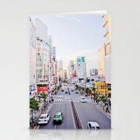 Shinjuku forever Stationery Cards