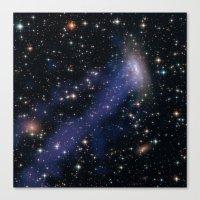 Galaxy ESO 137 Canvas Print