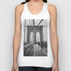Brooklyn Bridge III Unisex Tank Top
