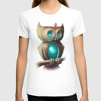 owl T-shirts featuring Night Owl by Chump Magic