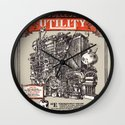 Extraordinarily Useless Utility Wall Clock