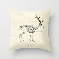 Death of the Red Tail Throw Pillow