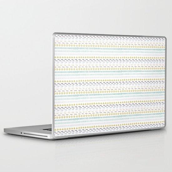 Line Dot Line Triangle Laptop & iPad Skin