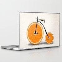 bicycle Laptop & iPad Skins featuring Vitamin by Florent Bodart / Speakerine