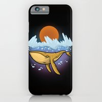 iPhone & iPod Case featuring Purple Ocean by Letter_q