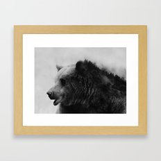 Big Bear #4 Framed Art Print