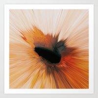 Jupiter Storm Art Print
