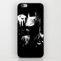 The Dark Knight iPhone & iPod Skin