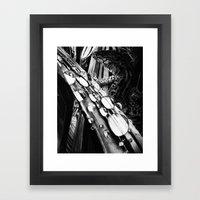 The Lizard Framed Art Print