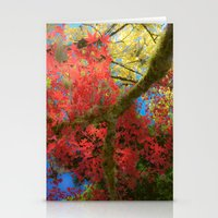 Fall Colors At Crescent … Stationery Cards