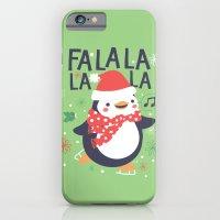 Fa la la penguin iPhone 6 Slim Case