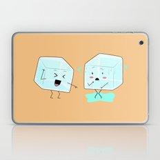 Ice cube problems Laptop & iPad Skin