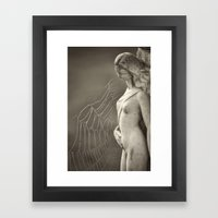Caught In A Trap Framed Art Print