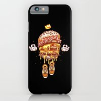 iPhone & iPod Case featuring King Burger by squadcore
