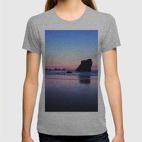 Serenity Womens Fitted Tee Athletic Grey SMALL