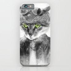 Biker Cat Slim Case iPhone 6s