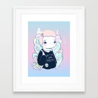 LOMA Framed Art Print