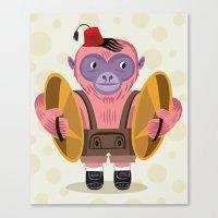 The Monkey Boy Canvas Print