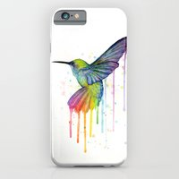 Hummingbird Watercolor iPhone 6 Slim Case
