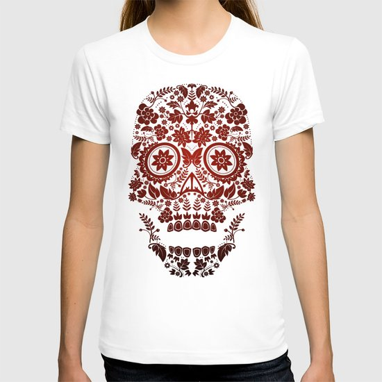 Day of the Dead Skull No.20 T-shirt