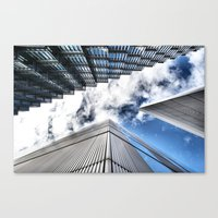 Look Up London Canvas Print