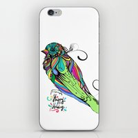 Colorful Bird iPhone & iPod Skin