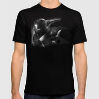 Mark 7 Stealth Mens Fitted Tee Black SMALL