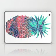 Laptop & iPad Skin featuring Maui Pineapple by Schatzi Brown