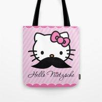 Hello Nietzsche Tote Bag