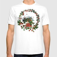 Sweet Bunnies Mens Fitted Tee White SMALL