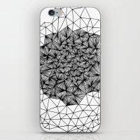 Geode Geometry iPhone & iPod Skin