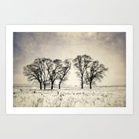 Dark Winter Days Art Print