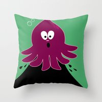 Oliver's Oops Throw Pillow