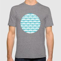 Bubbles Mens Fitted Tee Tri-Grey SMALL