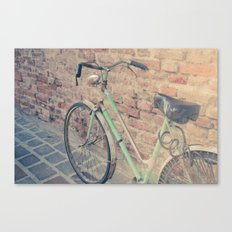 Vintage bike Canvas Print
