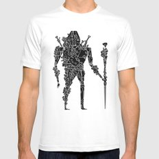 living robotic coral warrior  Mens Fitted Tee White SMALL
