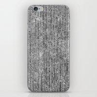 Stockinette Black iPhone & iPod Skin