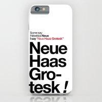 Helvetica Neue / Neue Ha… iPhone 6 Slim Case