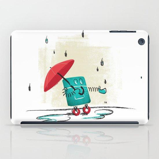 Rain is Bad for Robots iPad Case