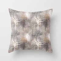 Morning Mist 2 Throw Pillow